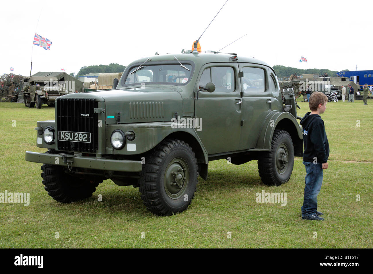 volvo 4x4 military vehicle stock photo royalty free image 18355827 alamy. Black Bedroom Furniture Sets. Home Design Ideas
