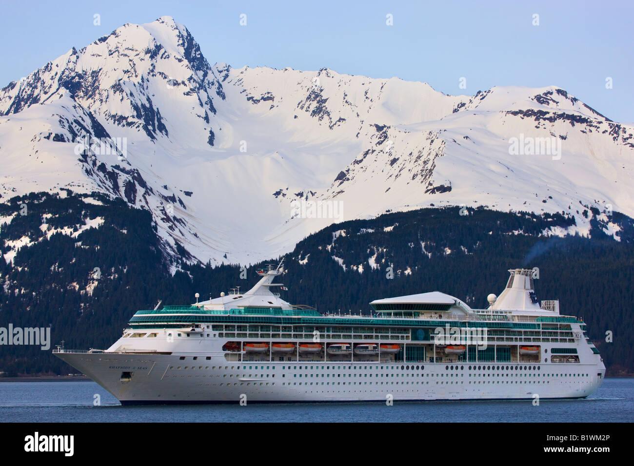 Royal Caribbean Cruise Ship Rhapsody Of The Seas Leaving Seward - Pictures of rhapsody of the seas cruise ship