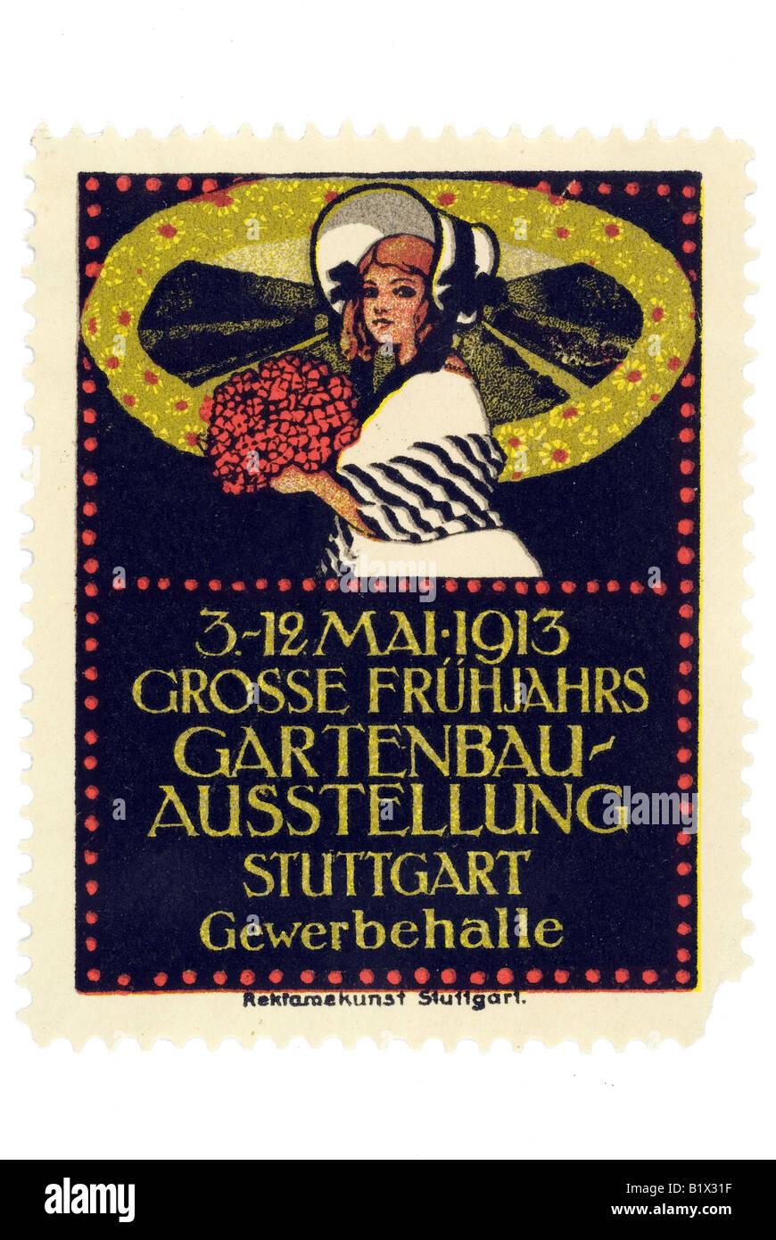 Gartenbau Stuttgart 1913 grosse frühjahrs gartenbau ausstellung stuttgart gewerbehalle