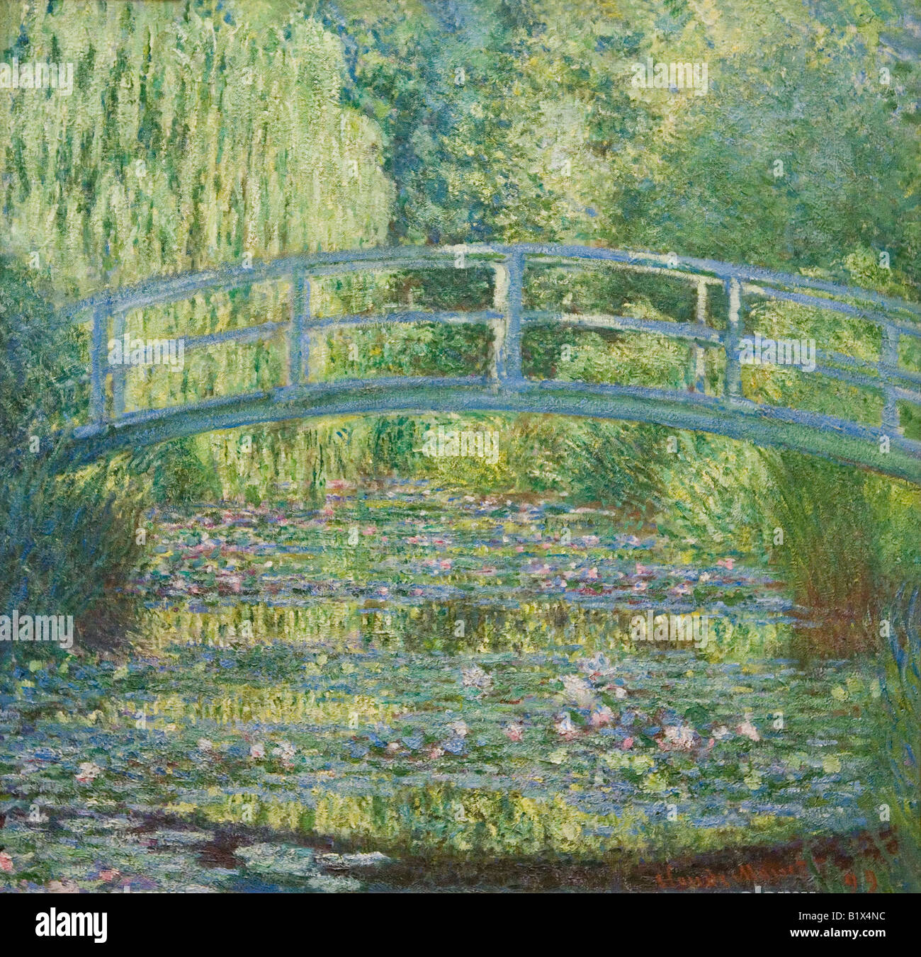 Water-Lily Pond, Symphony in Green 1899 painted by Claude Monet ...