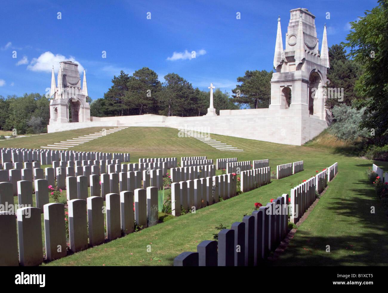 Etaples France  city pictures gallery : Etaples Military Cemetery Etaples Pas De Calais France Stock Photo ...