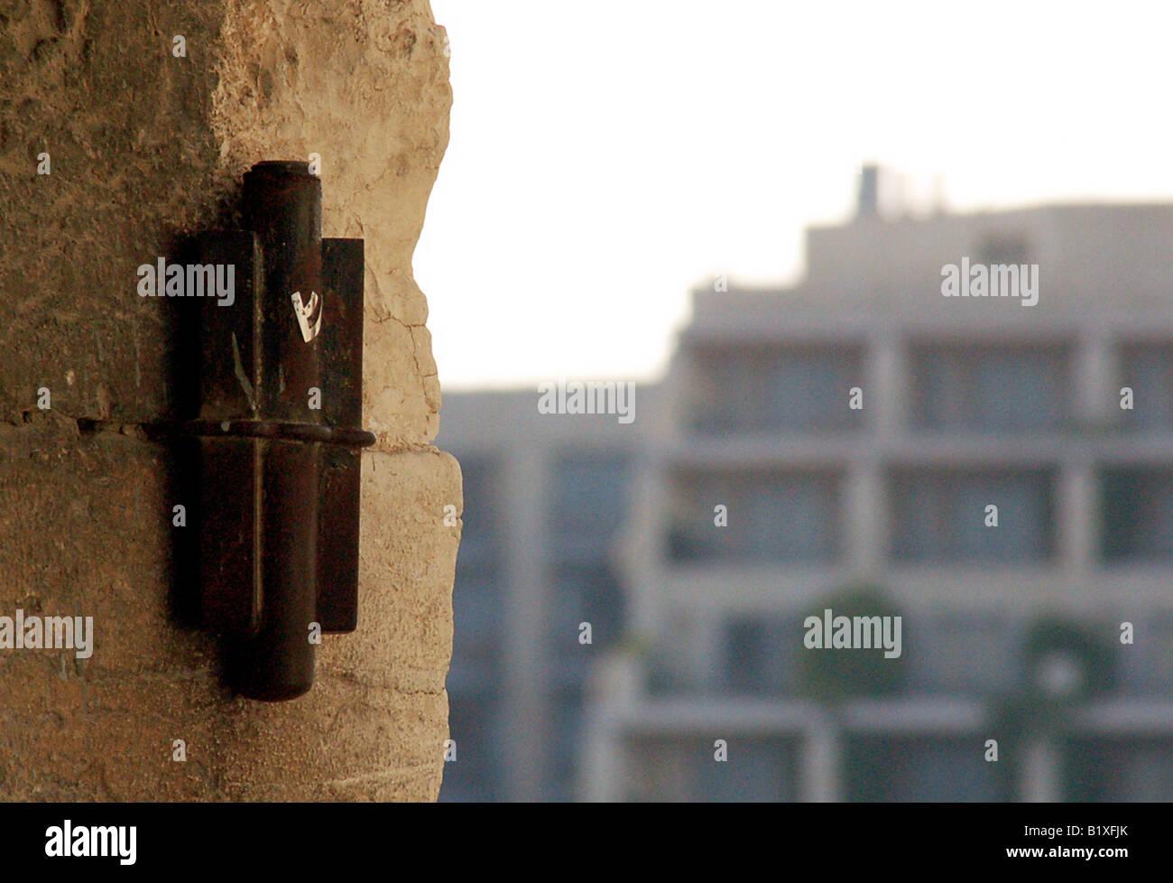 Jewish Doorpost Symbol Amp Mezuzah A Typical Jewish Symbol