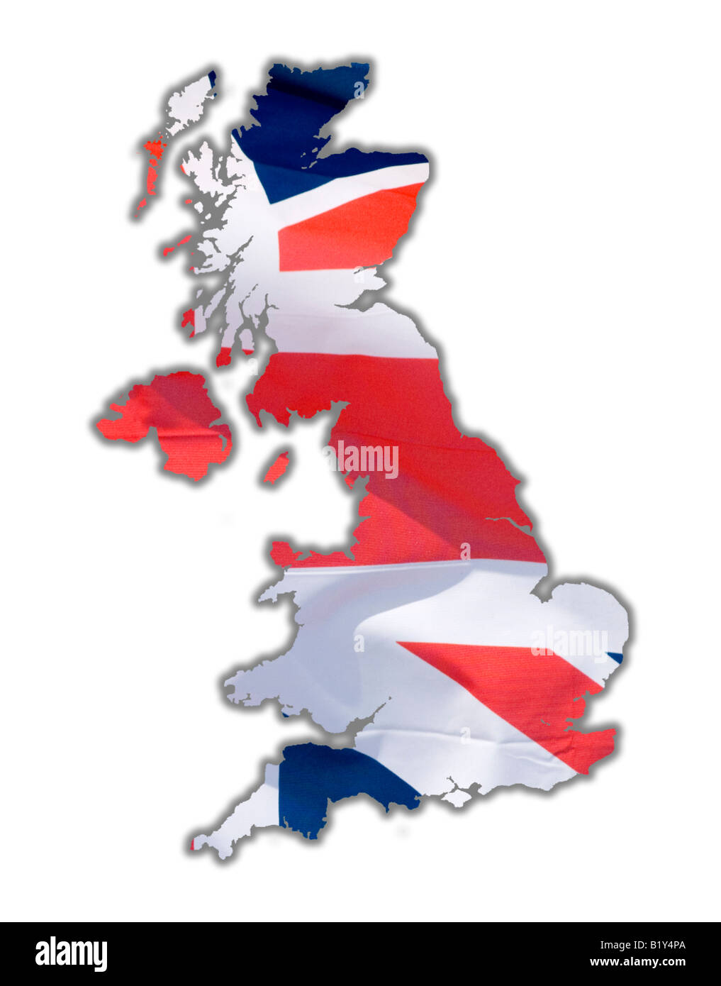 Map Of Uk Outline Stock Photos  Map Of Uk Outline Stock Images - Map us keyboard to uk