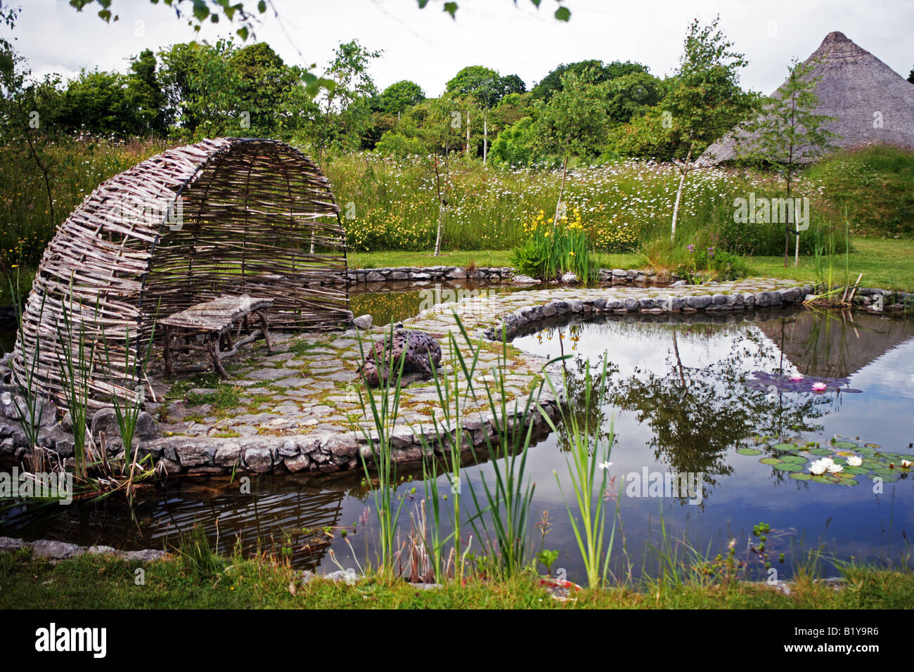 Samhain garden in brigit s garden country park designed by for Garden design galway