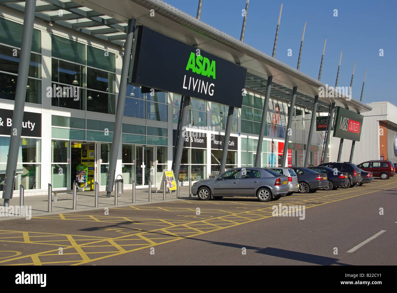 West Thurrock Essex Retail Park Asda Living Store And Free