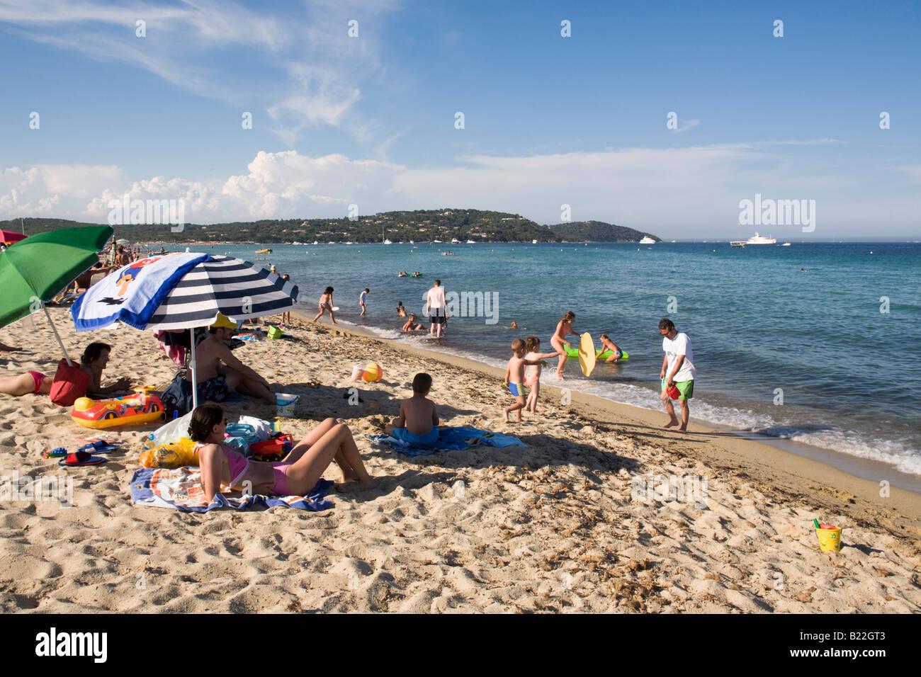 Plage de pampelonne beach of st tropez france cote d 39 azur stock photo royalty free image - Plage de saint tropez ...