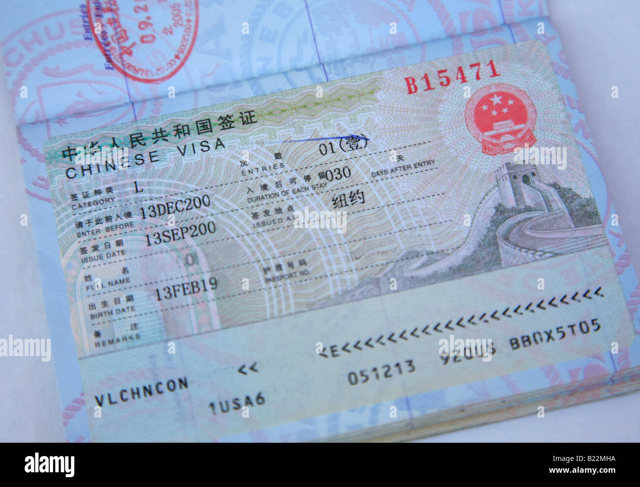 Travel Log On Usa Passport