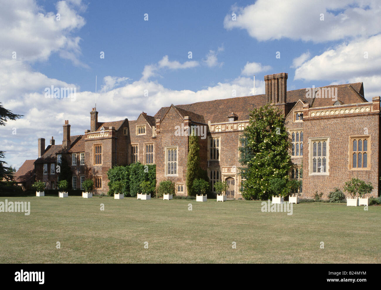 sutton place surrey england uk brick tudor mansion south