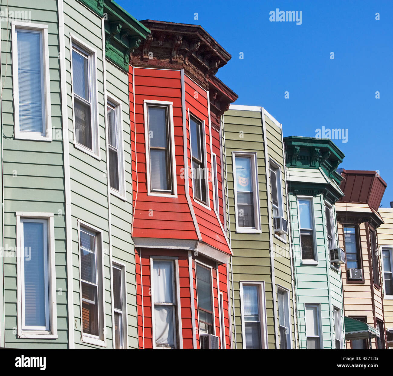 Row houses brooklyn new york united states stock photo for Buying a home in brooklyn