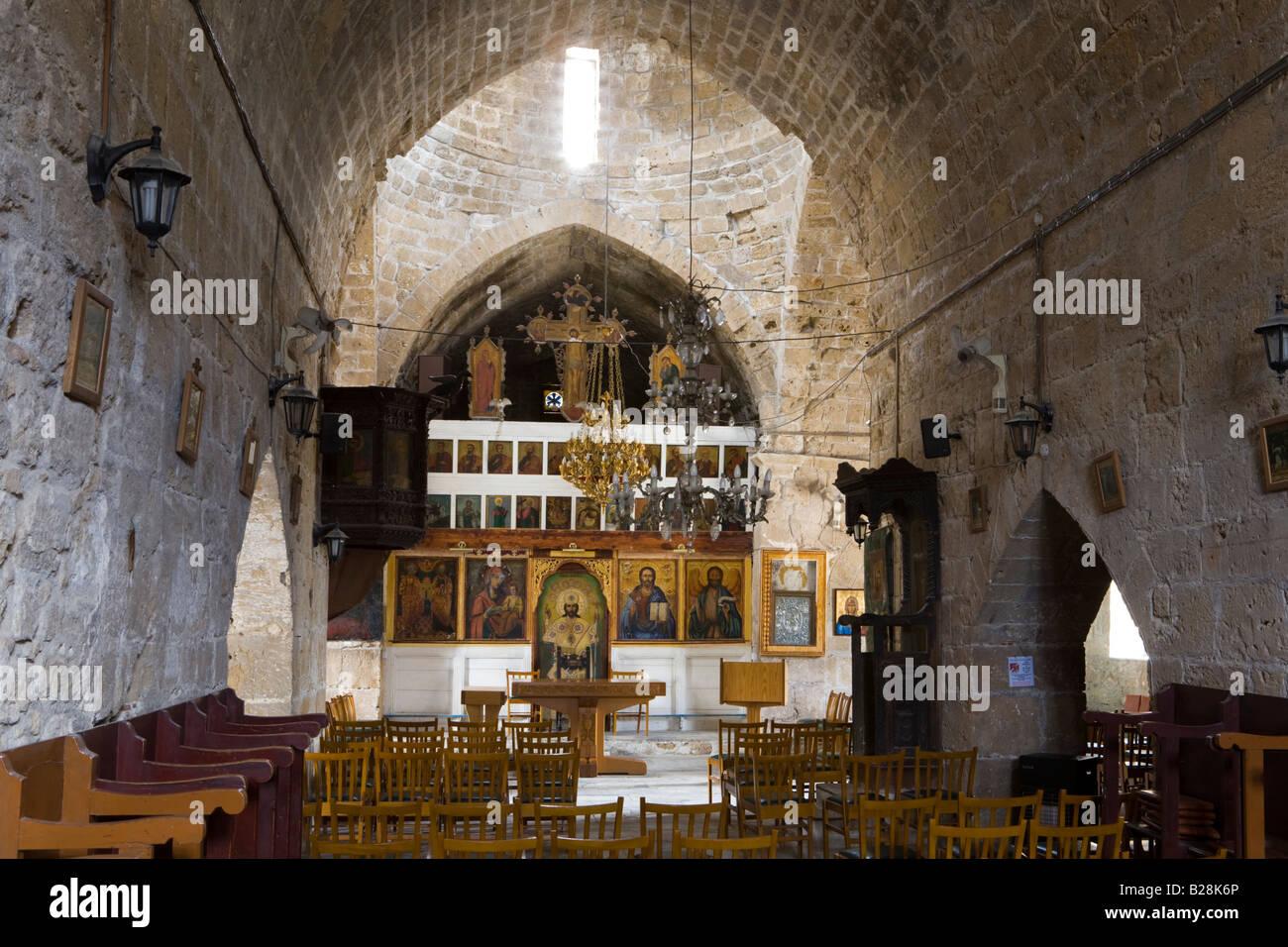 The interior of agia kyriaki chrysopolitissa church built for Interior site