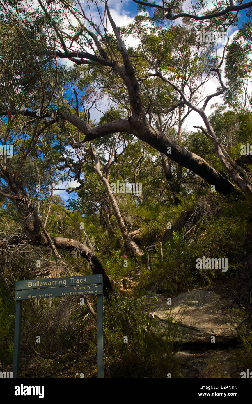 Heathcote Australia  city pictures gallery : Australia New South Wales Heathcote National Park Sign Indicating The ...