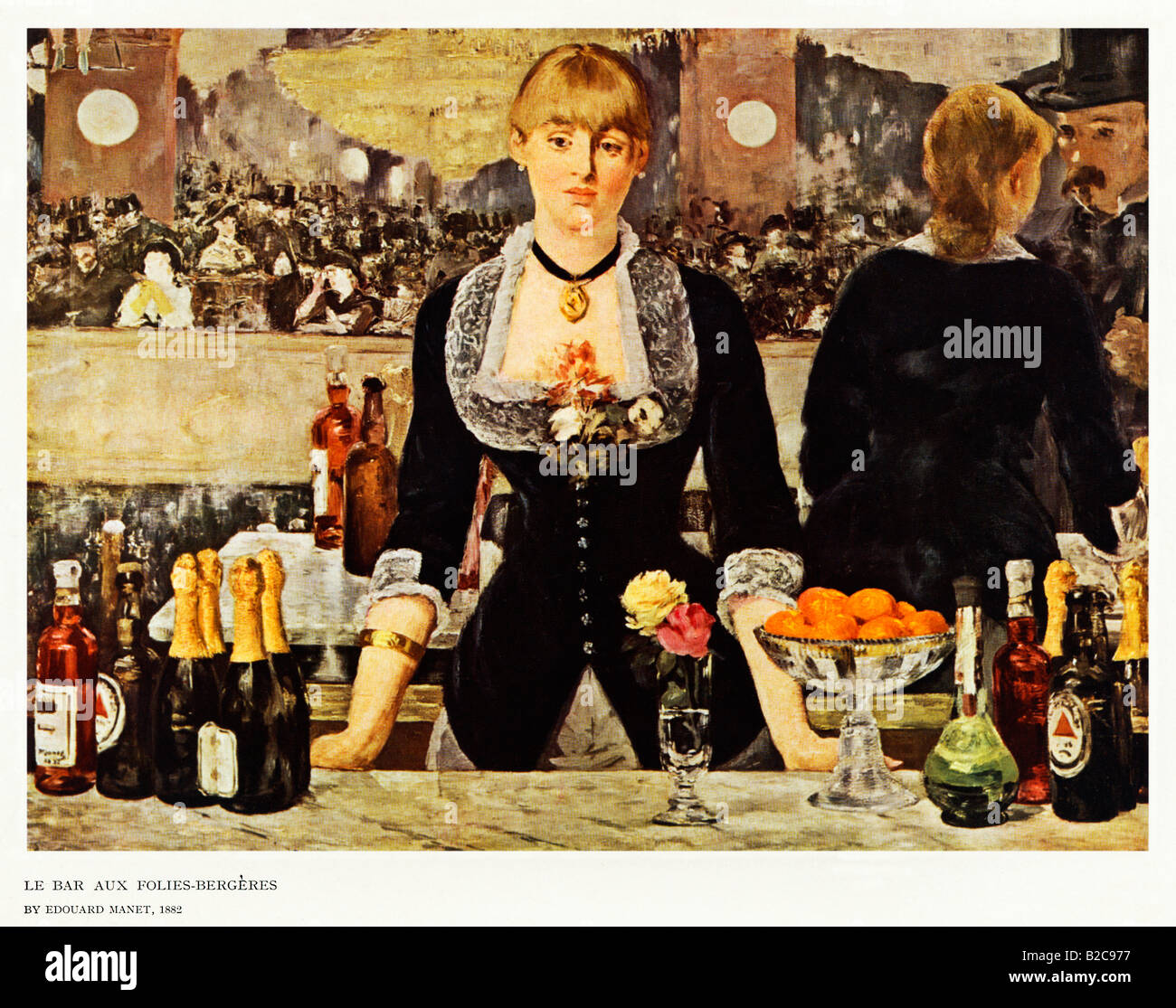 Famous Barmaid Painting