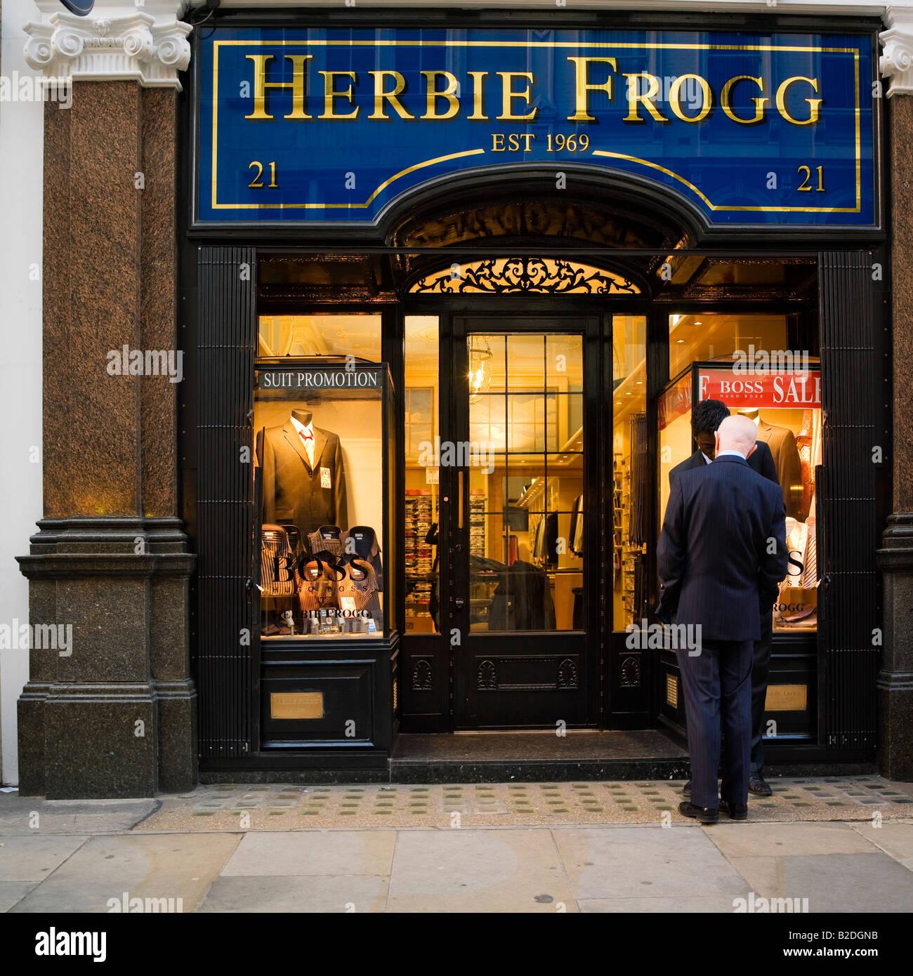 Herbie Frogg Bespoke Suit Outfitters Jermyn Street London ...