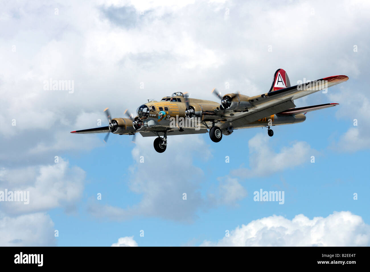 a B17 bomber WWII aircraft Stock Photo, Royalty Free Image ...