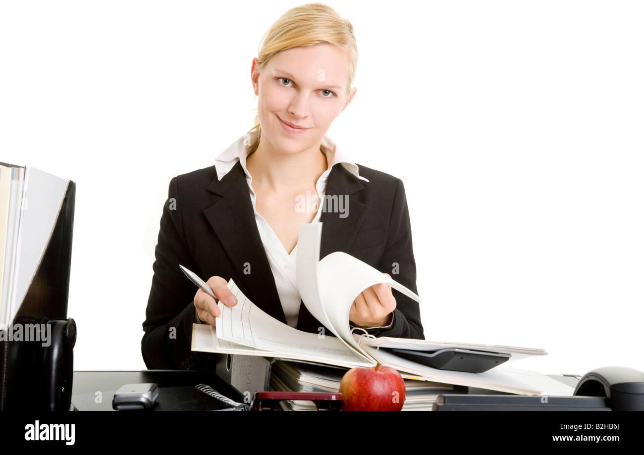 office assistant secretary desk work clerical job laptop notebook