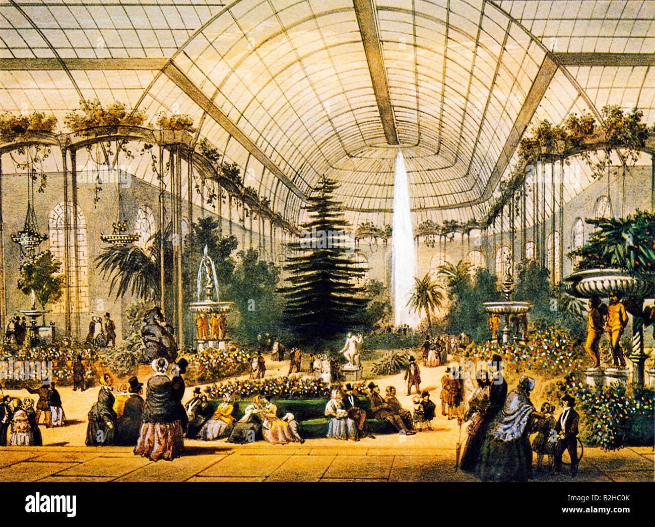 le jardin d hiver des champs elysees print of the glasshouse in paris stock photo royalty free. Black Bedroom Furniture Sets. Home Design Ideas