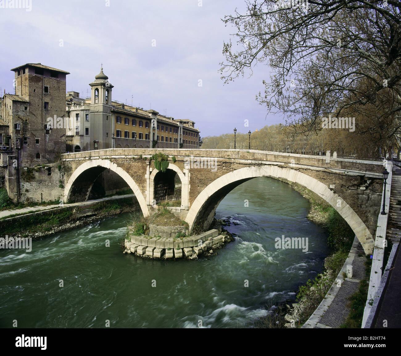 Resultado de imagem para ponte fabricio roma italia