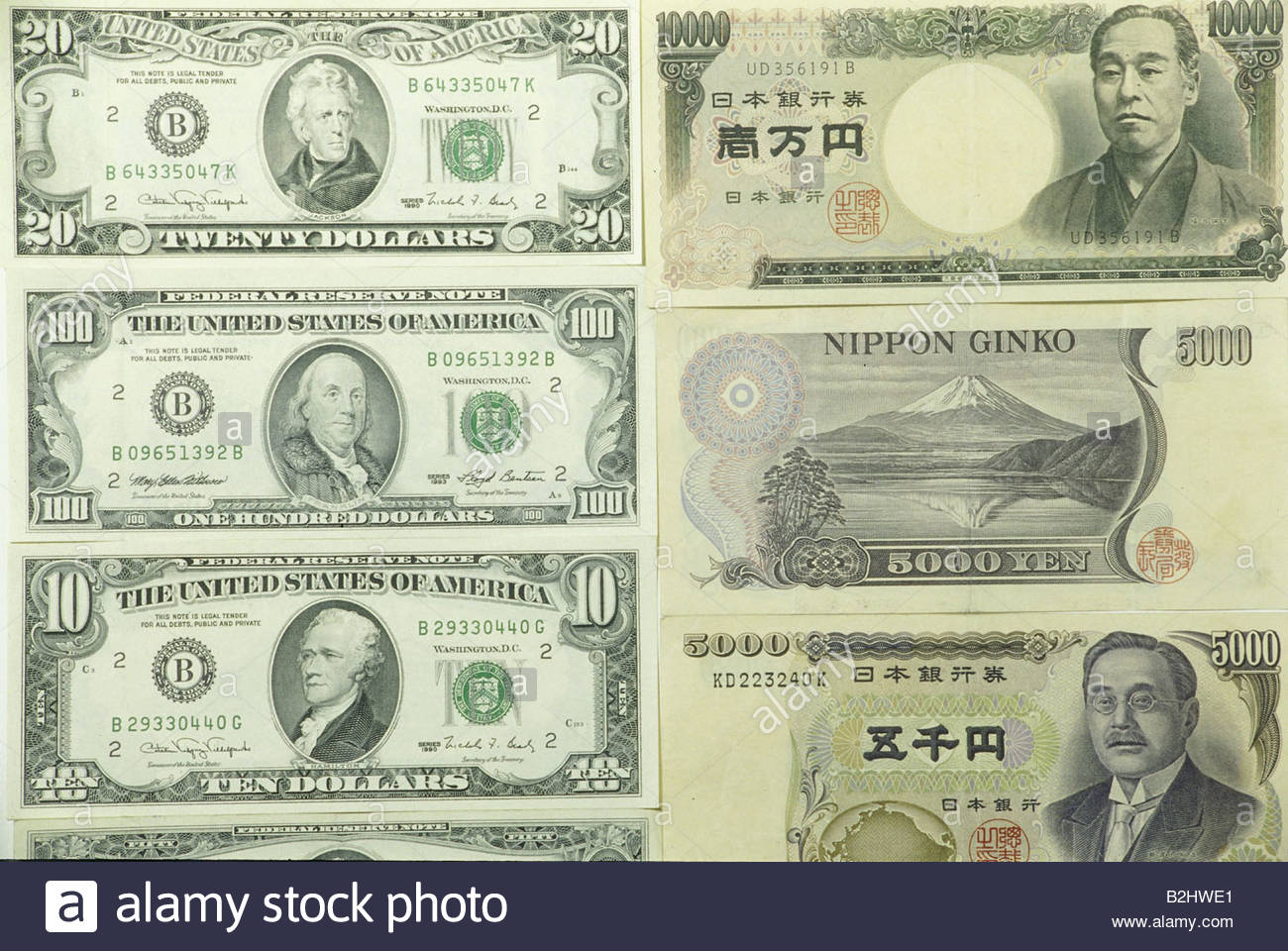 Forex japan yen us dollar