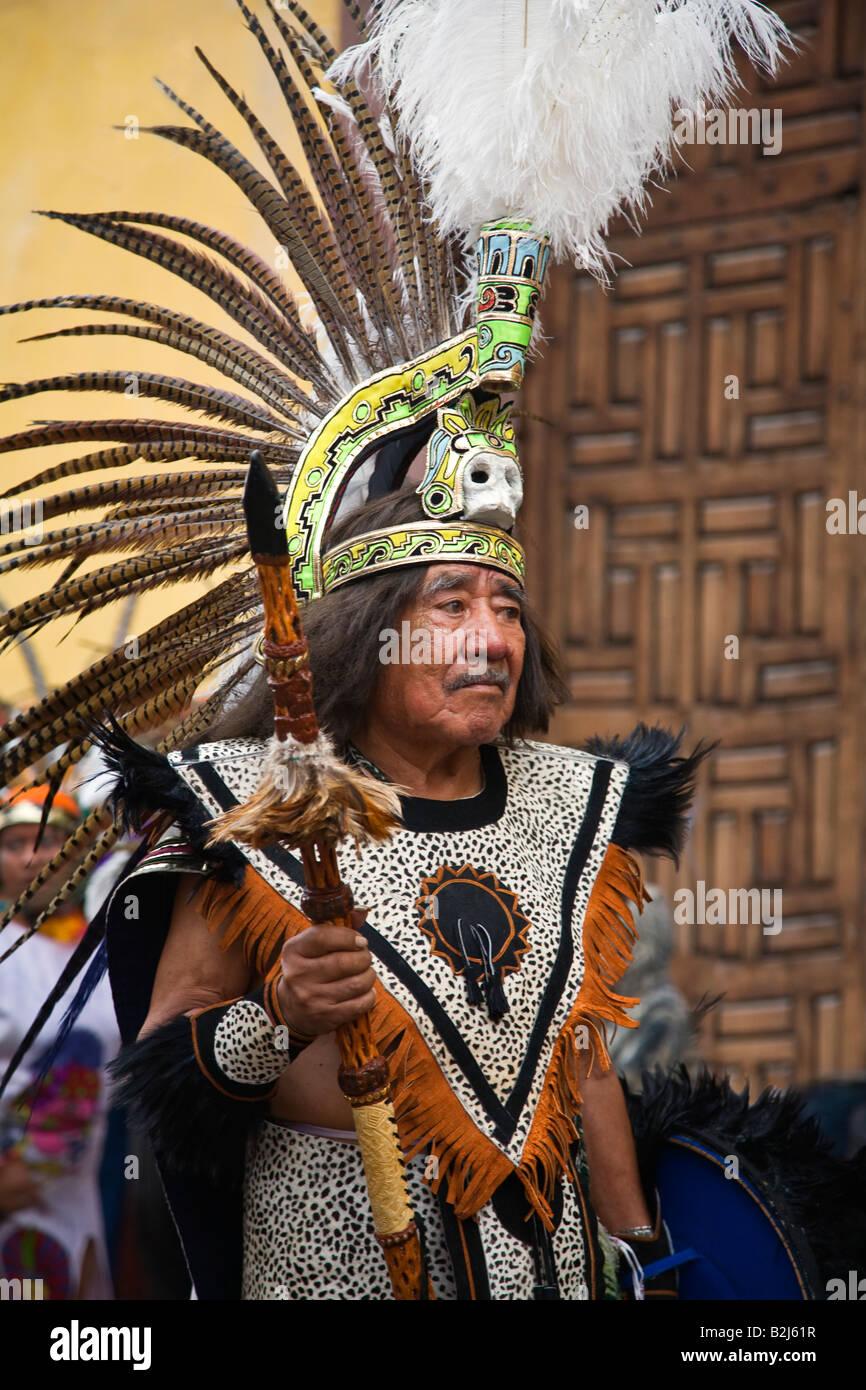 Aztec Headress Man 109