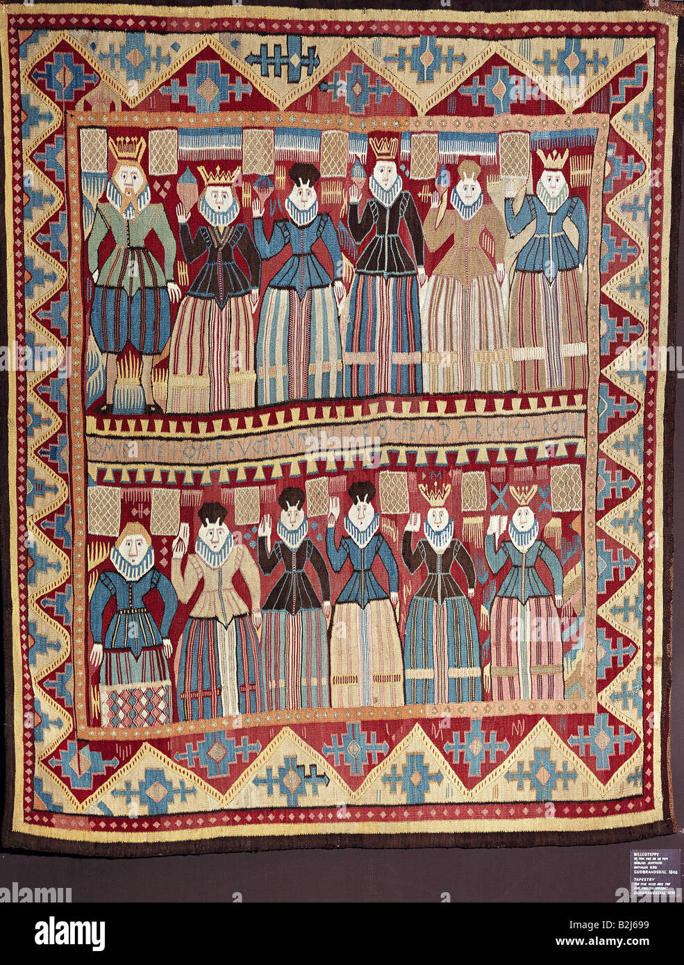 Fine Arts Norway Tapestry Quot The Wise And The Foolish