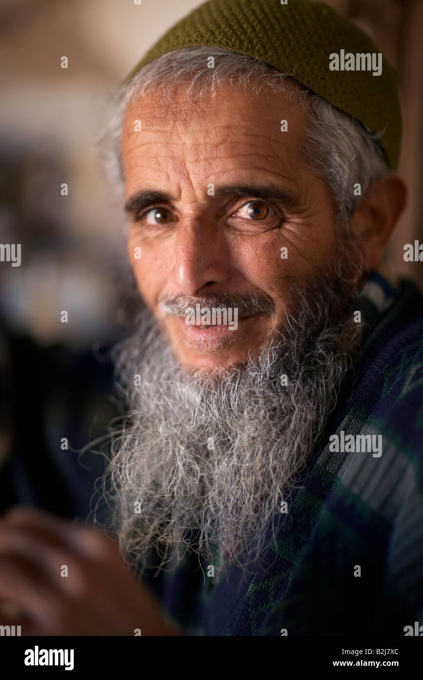 Stock Photo - portrait of a barber in his shop in Essaouira on the Atlantic Coast - portrait-of-a-barber-in-his-shop-in-essaouira-on-the-atlantic-coast-B2J7XC