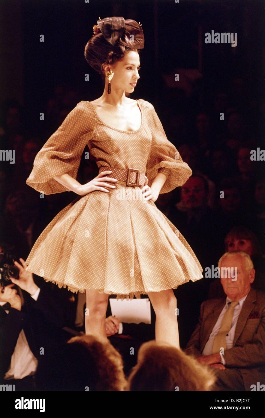 fashion 1990s mannequin wearing dress half length. Black Bedroom Furniture Sets. Home Design Ideas