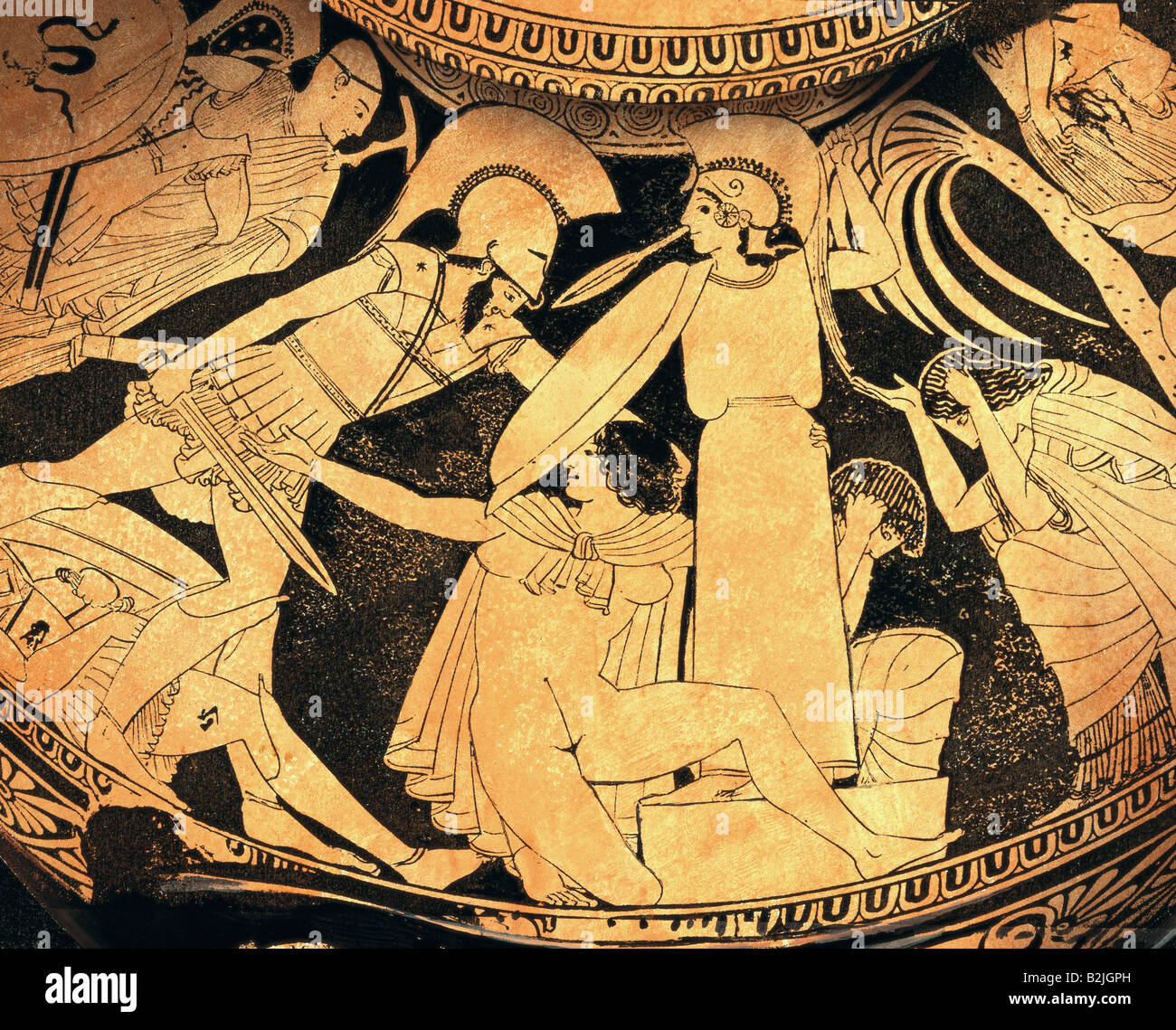 Fine arts ancient world greece vase painting hydria downfall fine arts ancient world greece vase painting hydria downfall of troy ajax and cassandra in the temple of athena by the k reviewsmspy