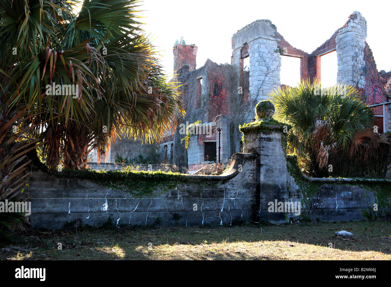RUINS OF DUNGENESS MANSION ON CUMBERLAND ISLAND GEORGIA UNITED - Is georgia in the united states