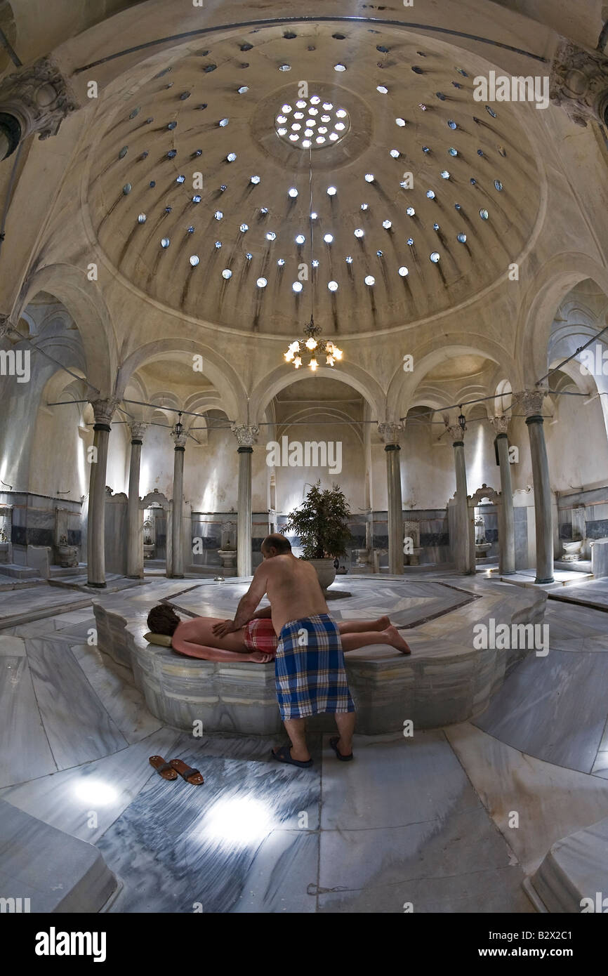 the 300 year old cagaloglu hamam turkish bath interior view of the stock photo royalty free. Black Bedroom Furniture Sets. Home Design Ideas