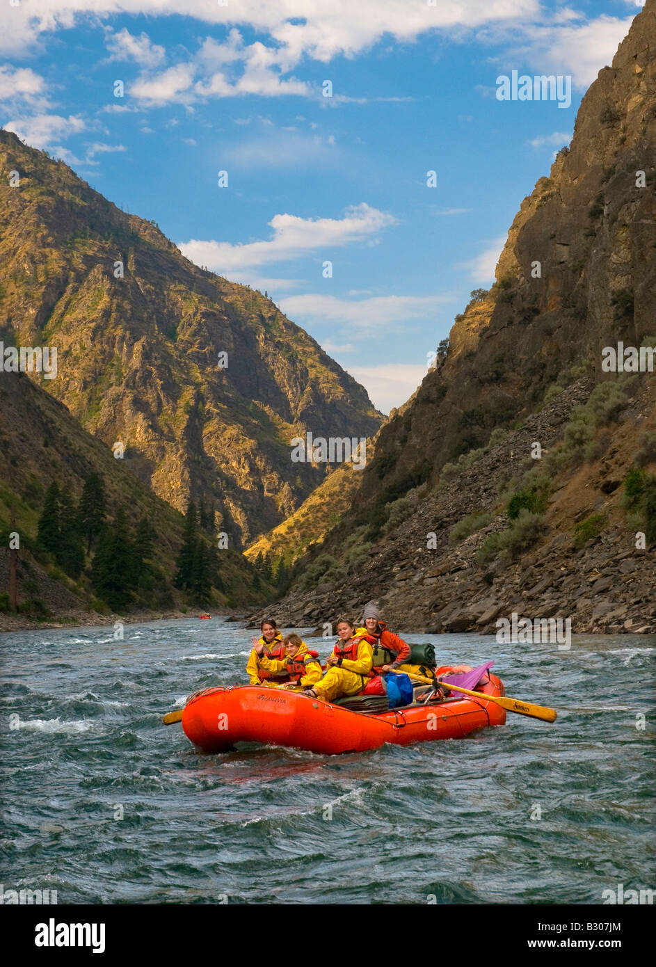 Idaho Rafting On The World Famous Middle Fork Of The Salmon River - World famous river name