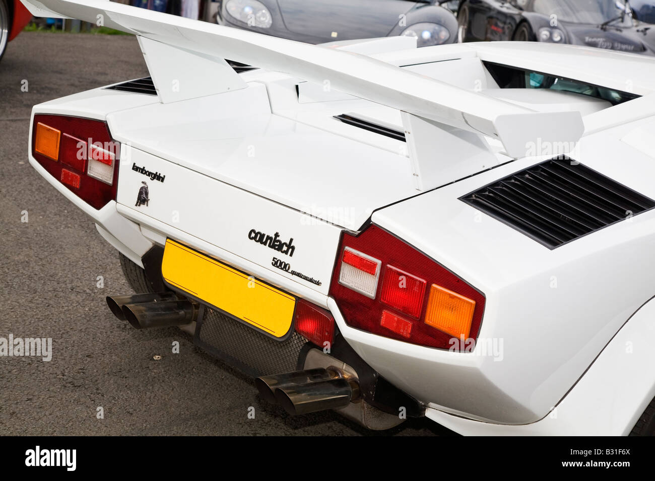 Image result for rear spoiler countach