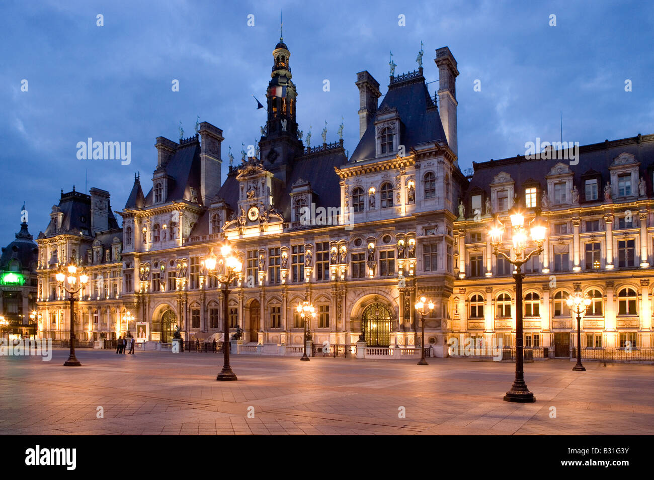 Hotel De Ville De Paris Construction