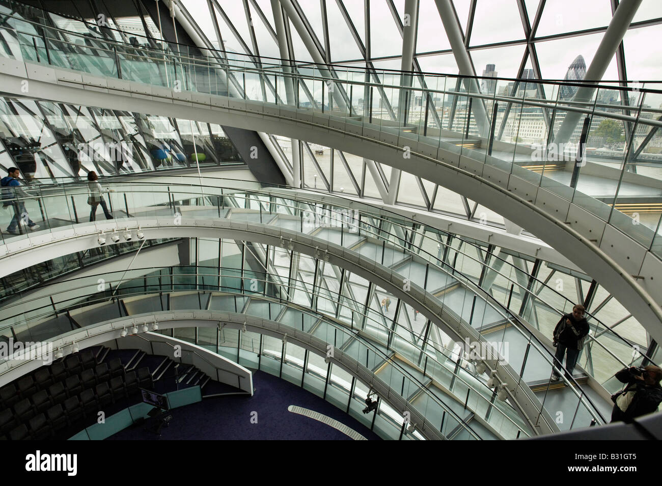 office interior design london. Interior Of City Hall The Mayors Office GLA Greater London Authority Spiral Staircase Architecture Modern Design