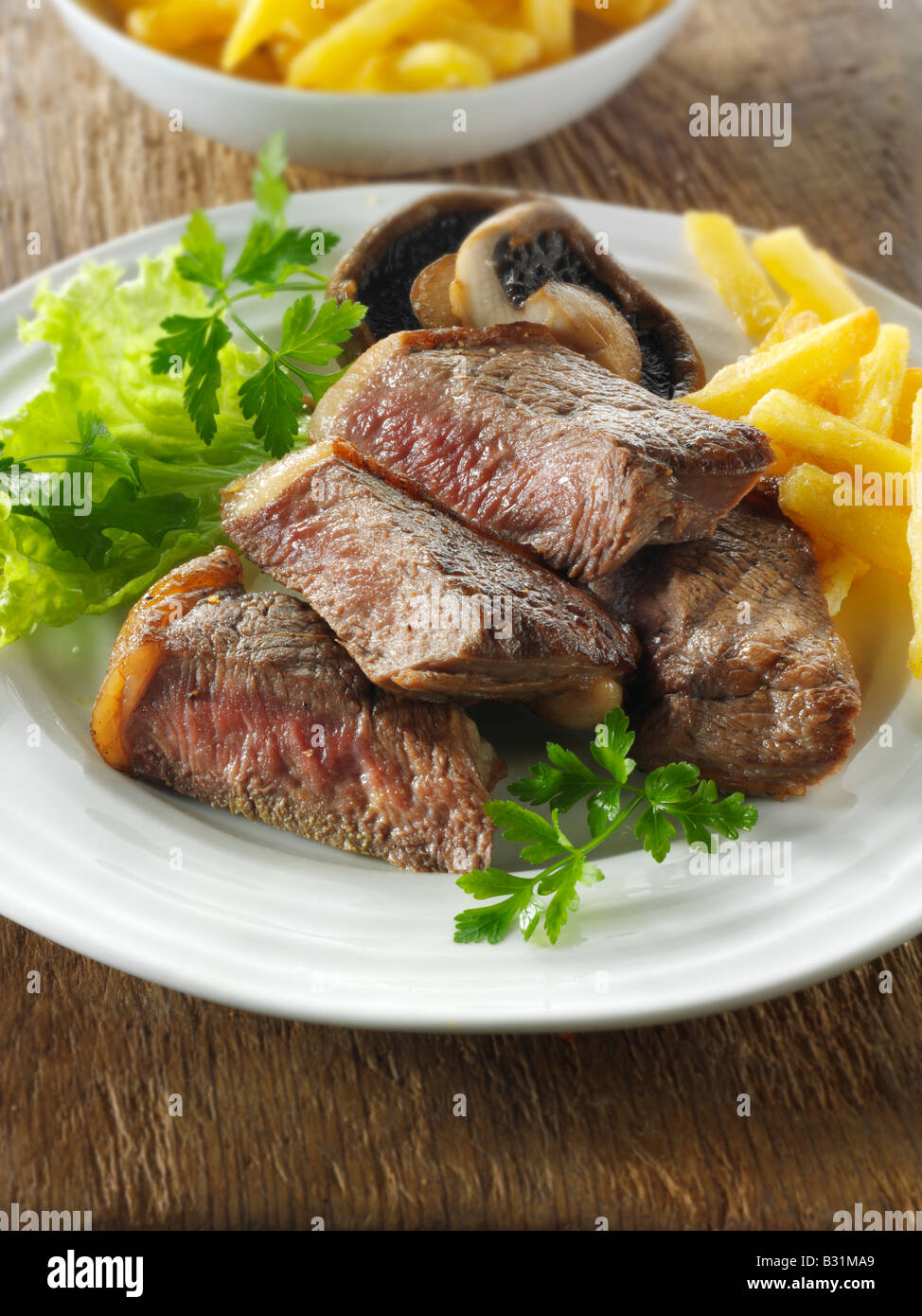 Sirloin Steak with Golden Onions