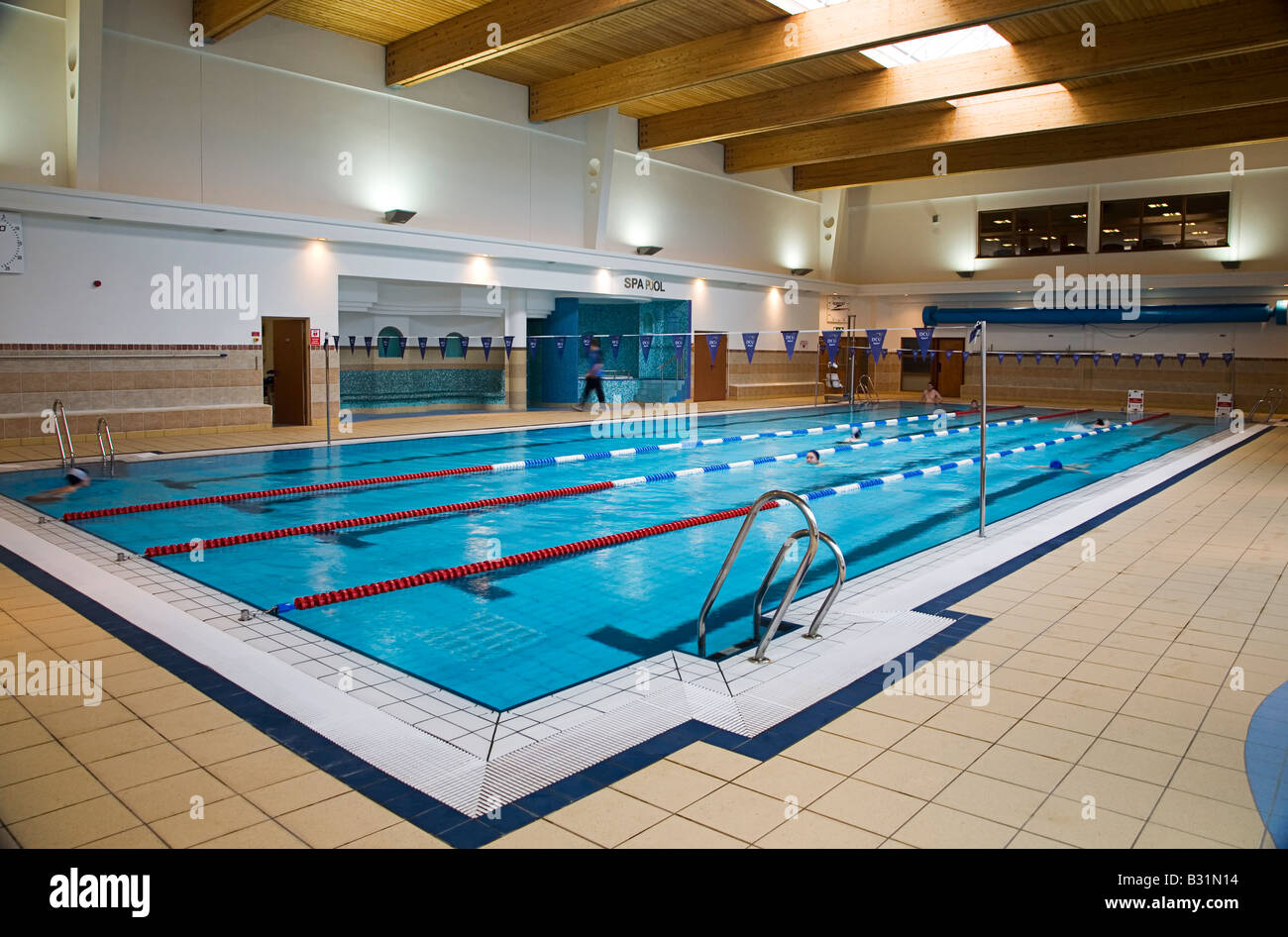 Dcu Sports Complex Swimming Pool Interior View Stock Photo Royalty Free Image 19092784 Alamy