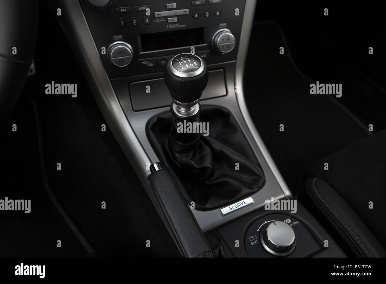 2009 subaru legacy 2 5 gt spec b in black gear shifter. Black Bedroom Furniture Sets. Home Design Ideas