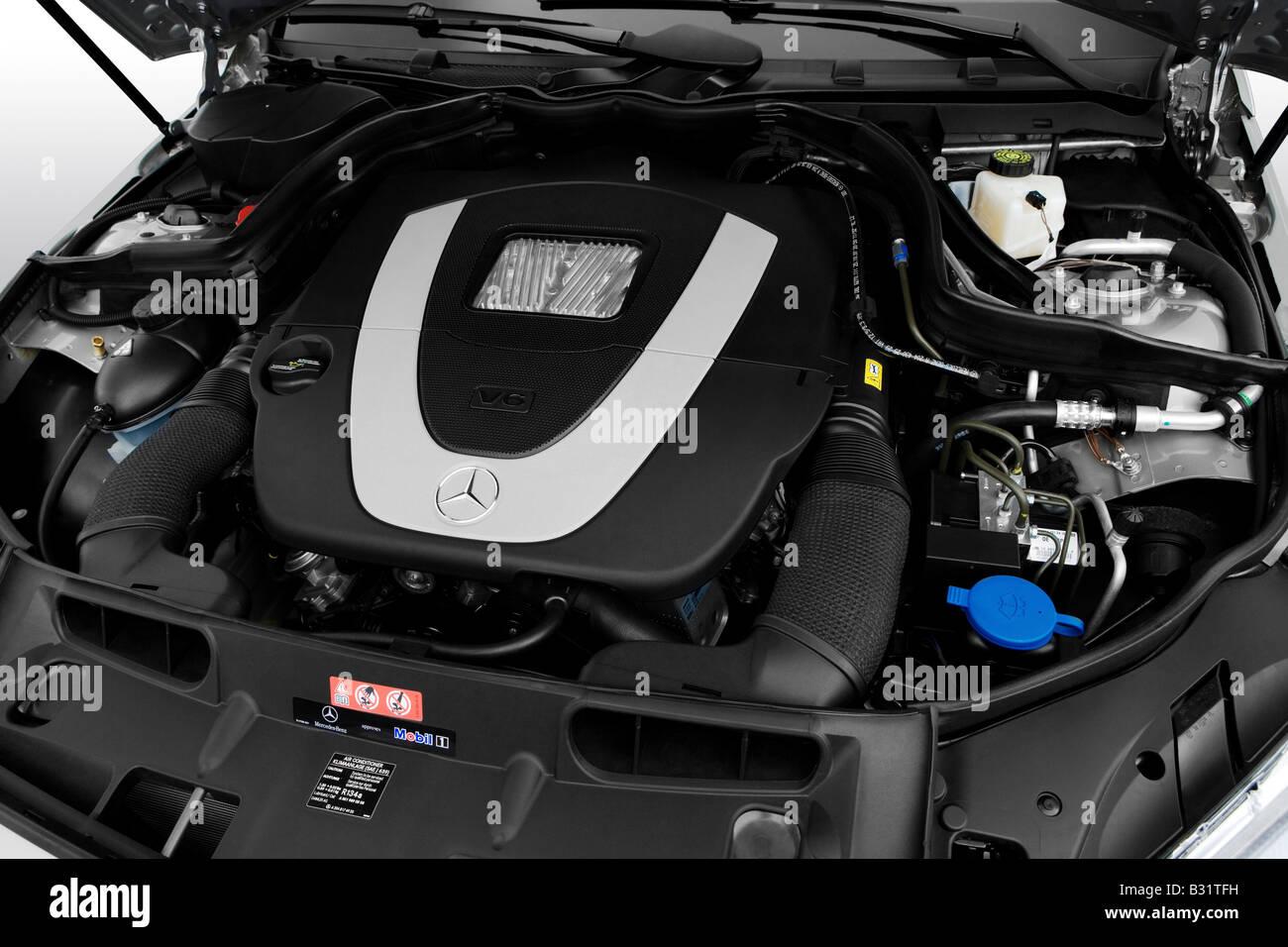 2008 mercedes benz c class c300 in gray engine stock for Mercedes benz c class engine
