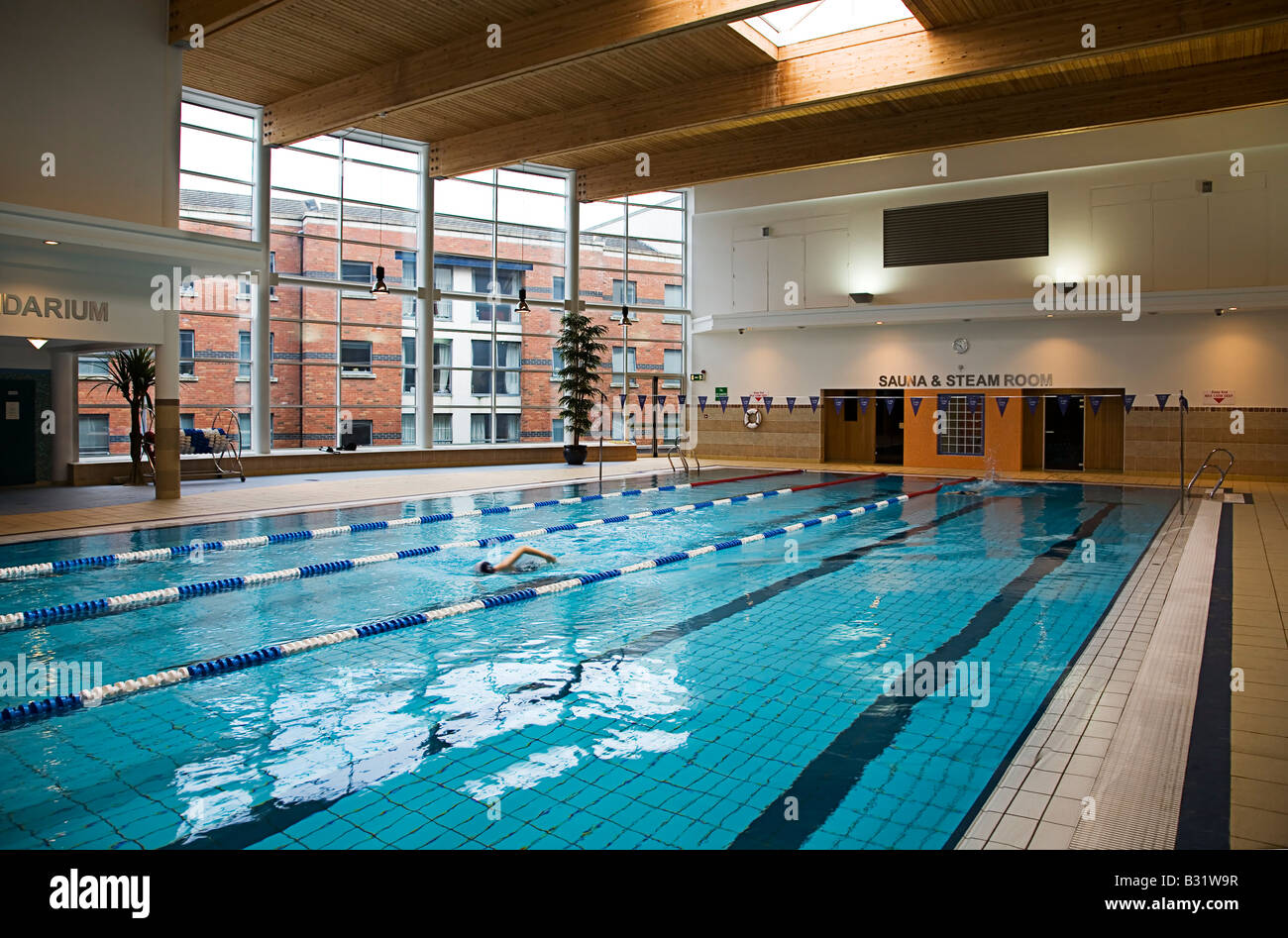 Dcu Swimming Pool Interior View Stock Photo Royalty Free Image 19096163 Alamy