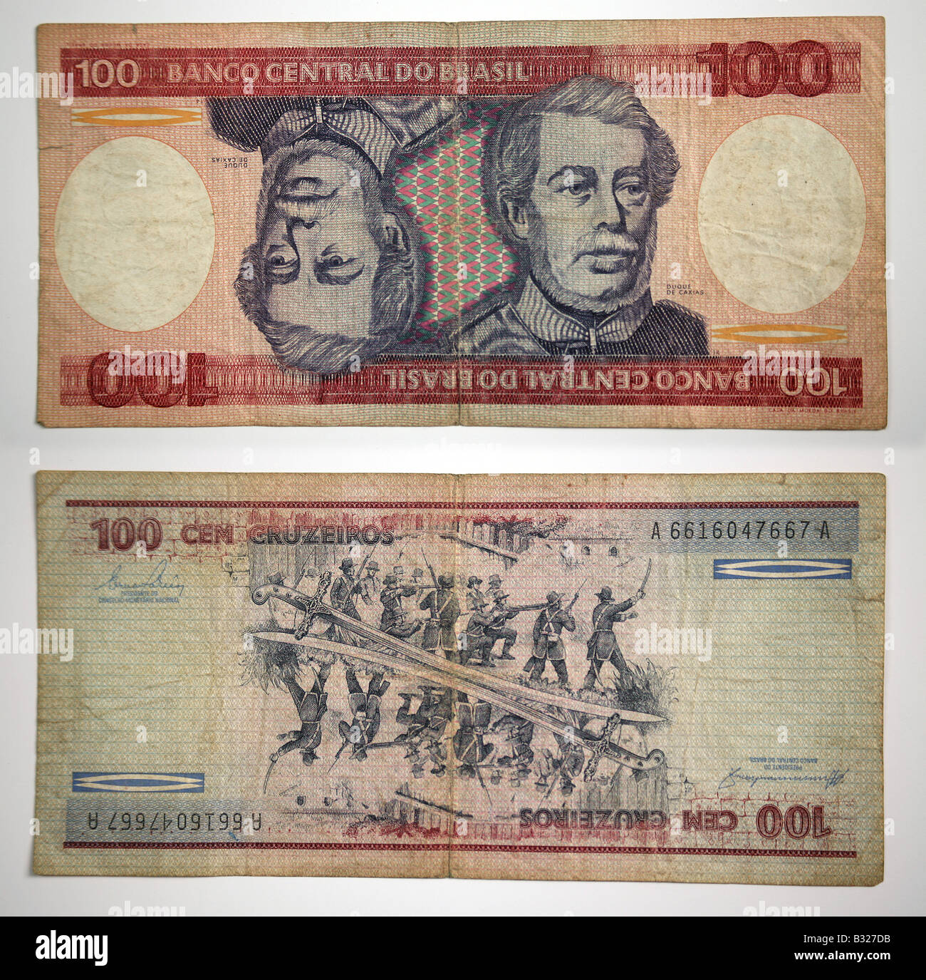Brazilian Currency 100 Banco Central Do Brasil Stock Photo, Royalty Free Image: 19104103 - Alamy