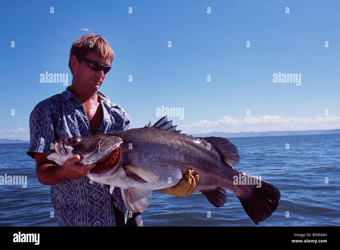 Kenya lake turkana fishing guide colin burch holds up for Fish at 30 lake