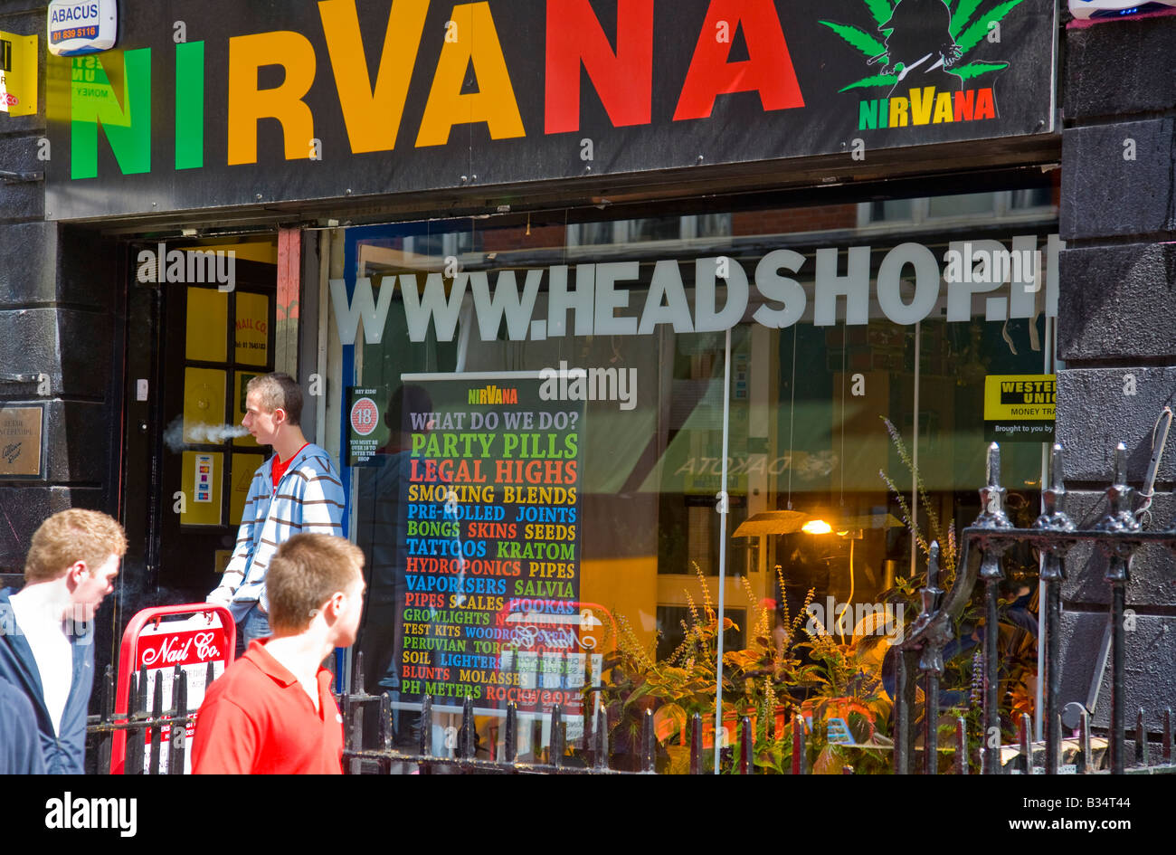 Buy herbal highs - Stock Photo A Shop In Capel Street Dublin Ireland Selling Herbal Highs Legal Drugs