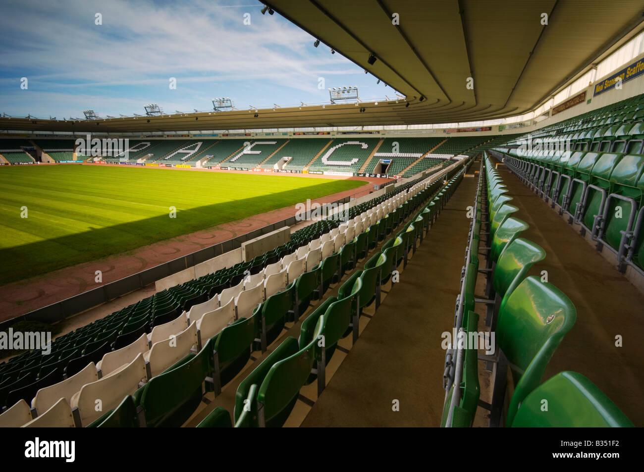 Plymouth Argyle Football Ground Home Park Devon UK
