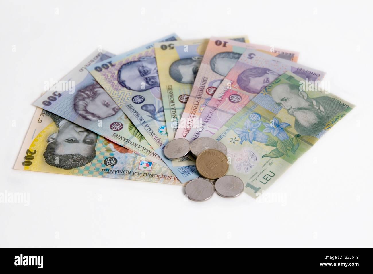 Romanian Money Lei Banknotes 1 Leu With Nicolae Iorga
