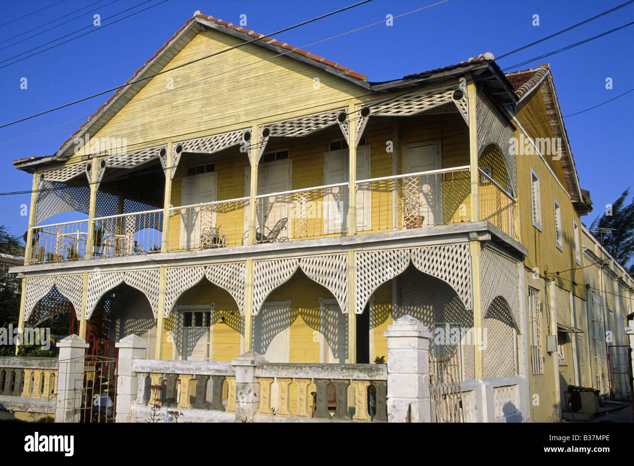 Historic Buildings Of Town Old French Colonial House