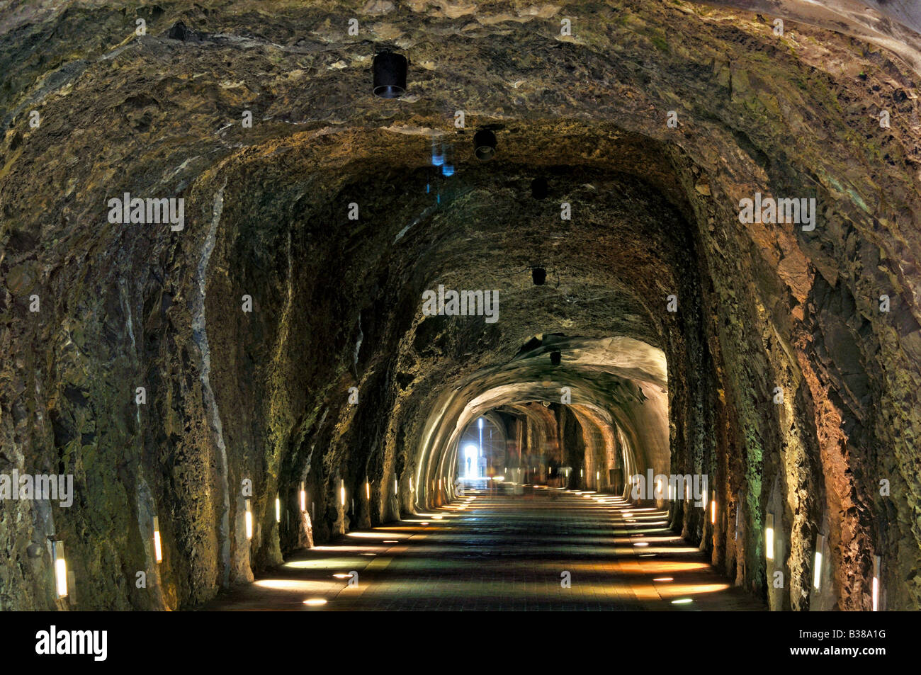tunnel of atalaya in laredo cantabria spain stock photo royalty free image 19237836 alamy. Black Bedroom Furniture Sets. Home Design Ideas
