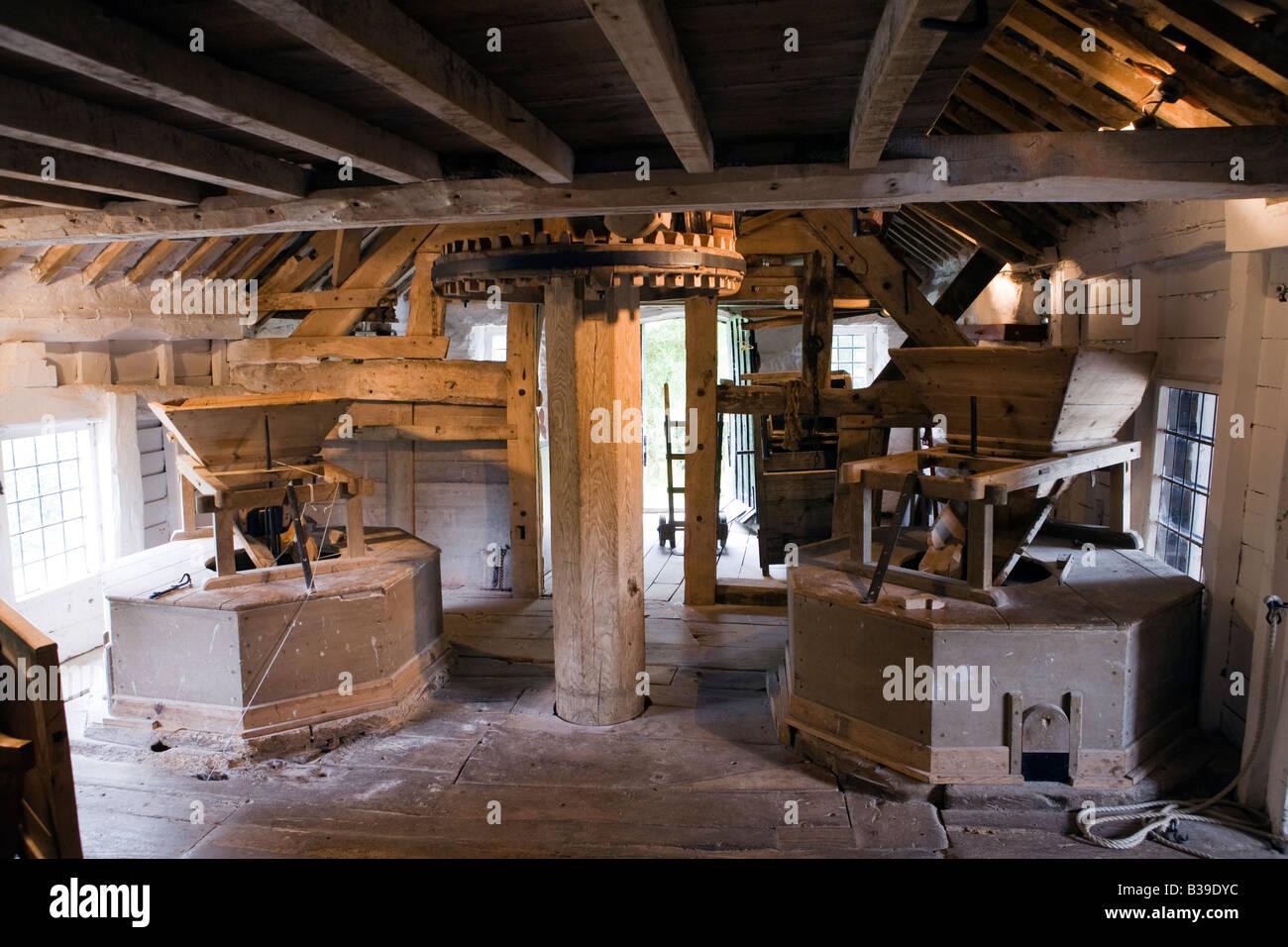 minecraft windmill interior