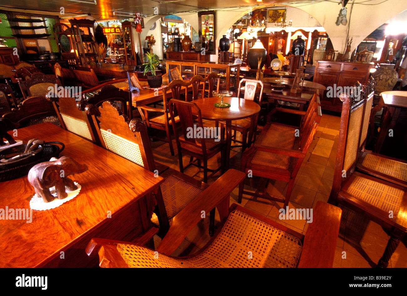Antique furniture at philtrade manila philippines stock photo royalty free image 19262963 alamy Home furniture online philippines