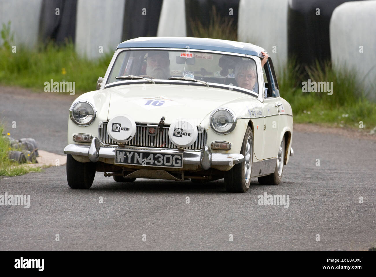 Stock Photo 1969 Mg Midget Classic Vehicle Autotest Rally Knockhill Fife Scotland 19274598 on cars for transportation