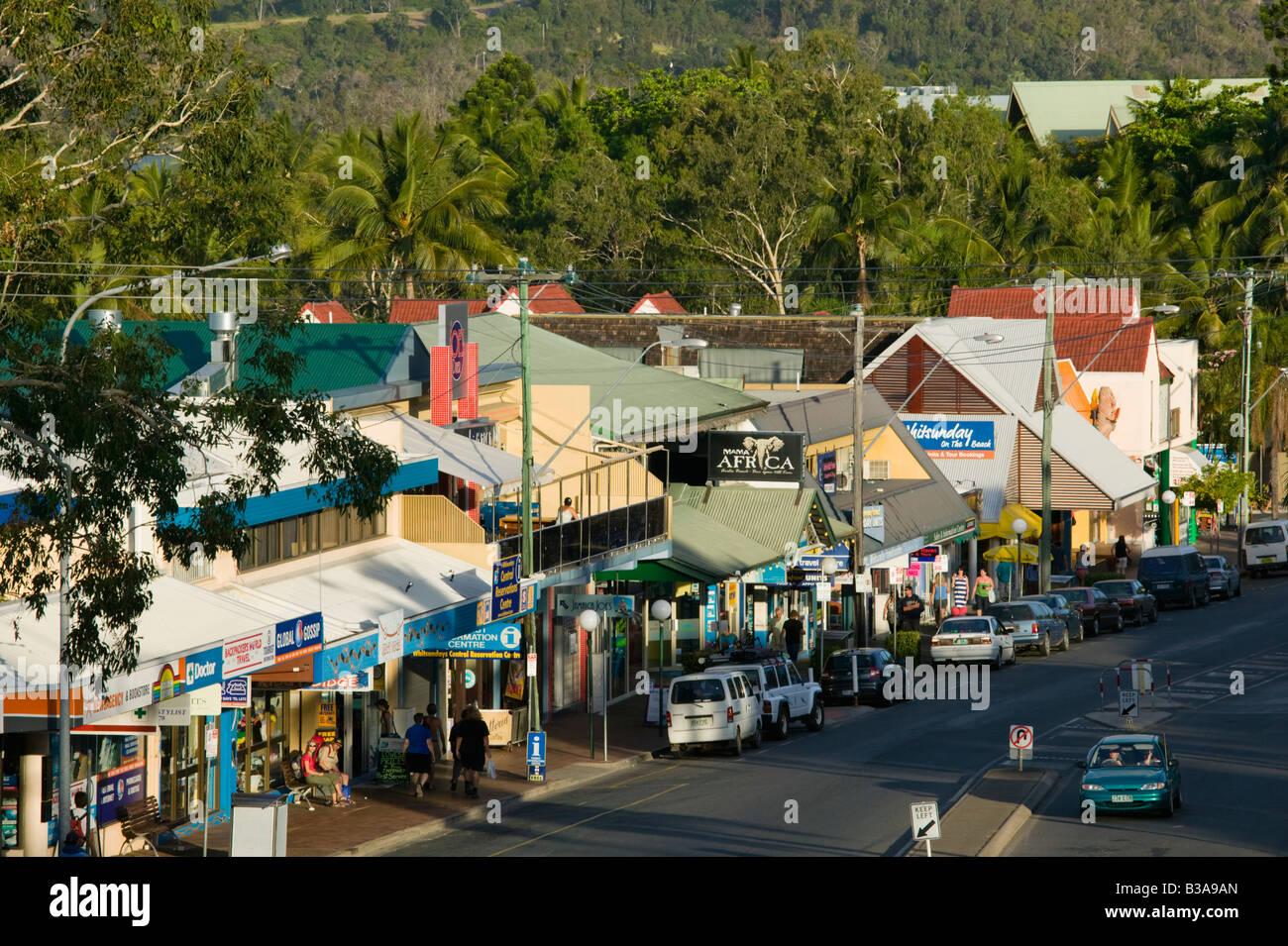 Australia Queensland Whitsunday Coast Airlie Beach Shute Harbour Road