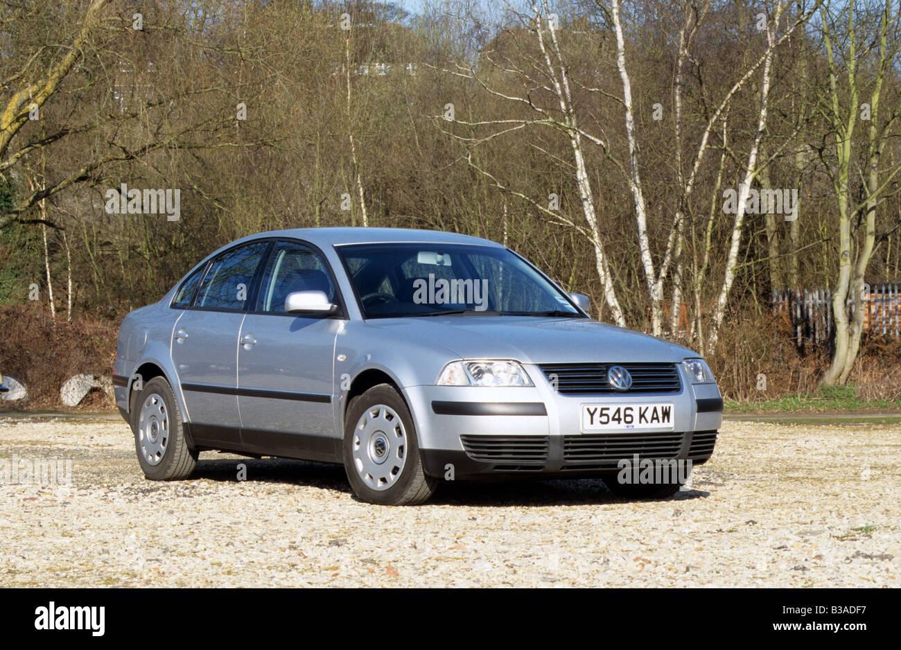 Volkswagen passat saloon tdi of 2001 model years 1997 2001 stock image